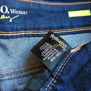 Style & Co Jeans - Style&co. BootCut Jeans Dark Wash Flap Pockets